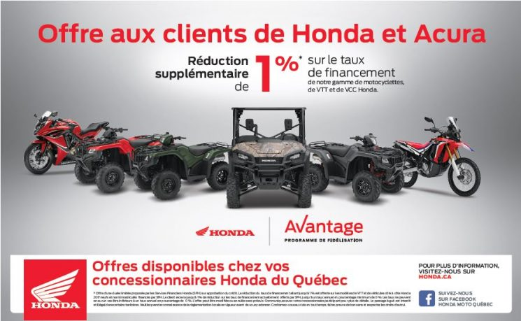 Promo HONDA -1%