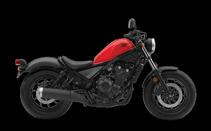 Honda Rebel 500 2018 rouge