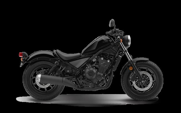 Honda Rebel 500 2018 noir