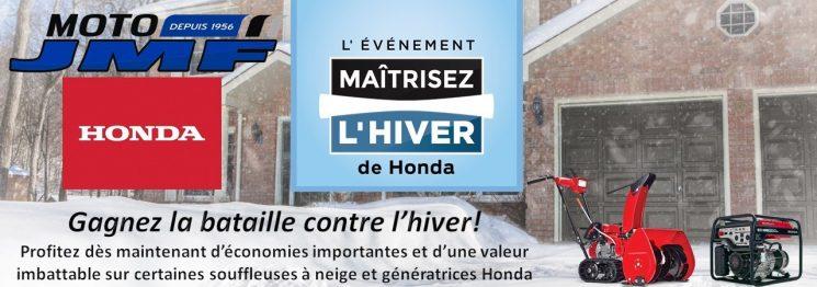 C'est l'événement Maîtrisez l'hiver de Honda!!