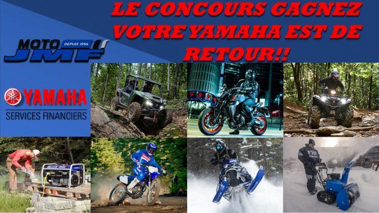 Concours Gagnez votre Yamaha
