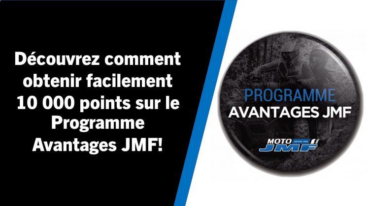 Programme Avantages JMF- Référencement