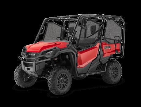 Honda Pioneer 1000-5 EPS Deluxe Rouge patriote 2021