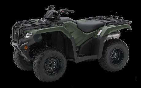 Honda Rancher TRX420 Vert aventure 2021